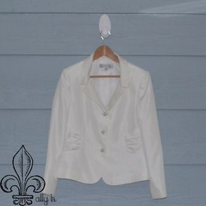 🎆NWOT Tahari white suit🎆